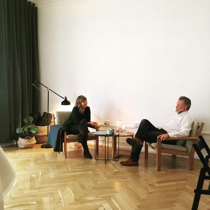 Eksempel på samtaleterapi hos Psykomotoriske Terapeuter København